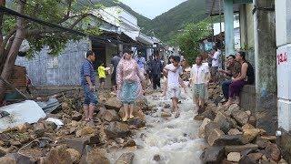 Nha Trang: Tổng hợp tình hình thiệt hại do mưa lũ