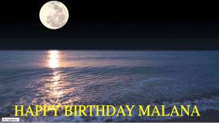 Malana  Moon La Luna - Happy Birthday