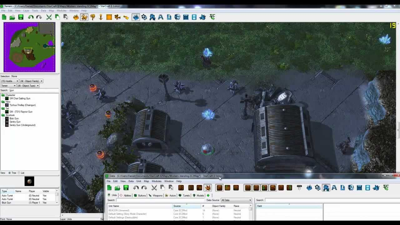 editeur map starcraft 2