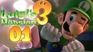Luigi's Mansion 3 - Walkthrough #01 - The return of King Boo!