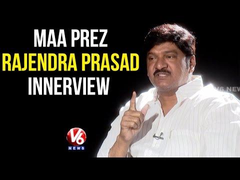 MAA President Rajendra Prasad Exclusive interview - V6 Innerview (19-04-2015)