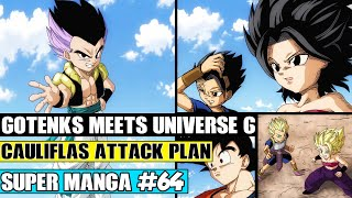 Beyond Dragon Ball Super: Gotenks Meets Universe 6! SSJ Cabba And Caulifla Vs Gotenks Begins!