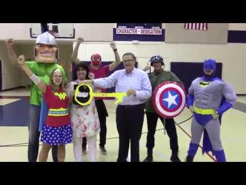 Calvary Christian High School Teacher Spirit Week Video 2017