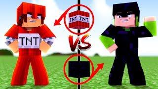 Minecraft: ARMADURA DE TNT VS ARMADURA DE OBSIDIAN !!