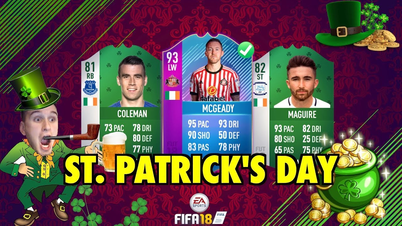 Fifa 18 St Patricks Day