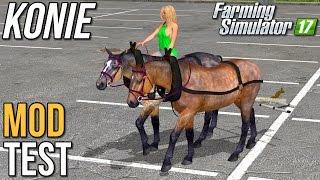 Konie  [MOD TEST] - Farming Simulator 17 (45k subów special)