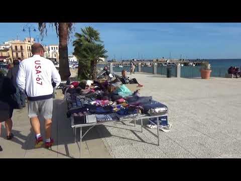 Mondello Beach Palermo in Sicily Italy MSC Meraviglia