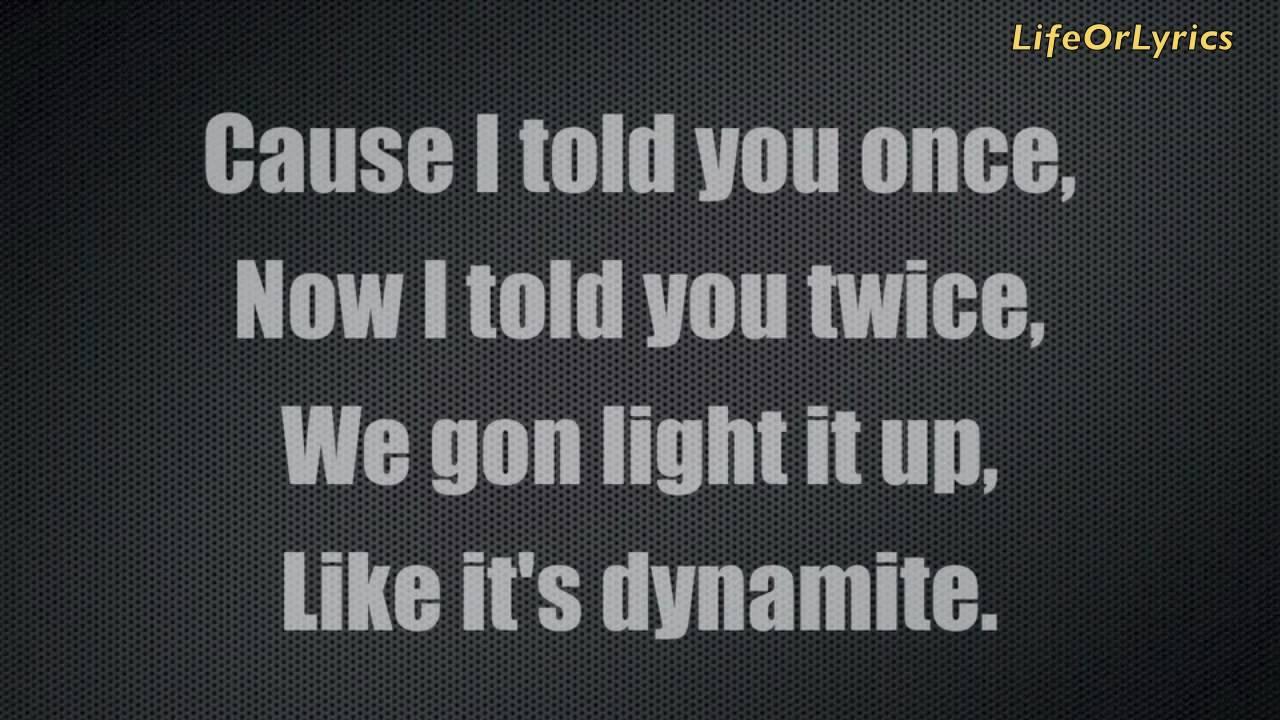 Dynamite by Taio Cruz [w/lyrics]