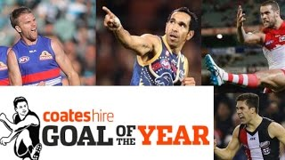 afl 2016 best goals of the year