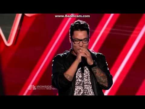 PRESTON POHL THE VOICE AUDITION
