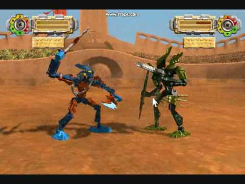 New Bionicle Game Glatorian Arena Youtube