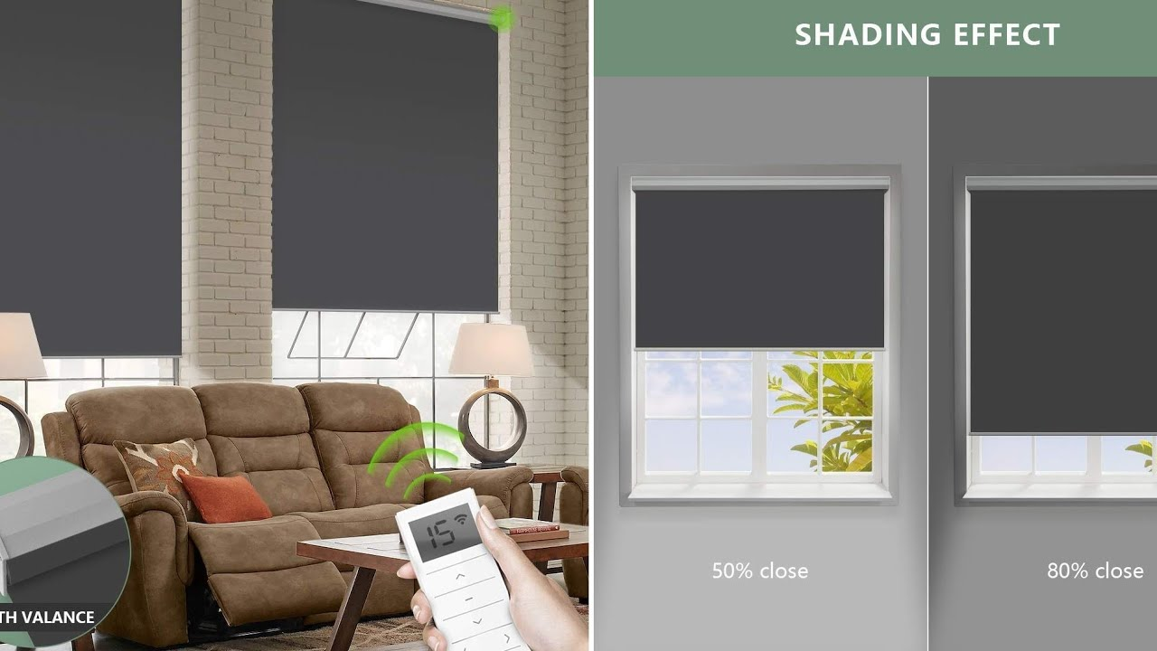 Transform Ordinary Blinds Into Smart Automated Window Blinds Youtube