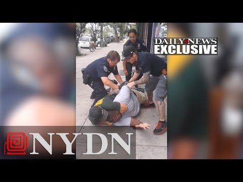 Eric Garner video - Unedited version