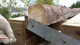 12ft Chainsaw Lumber Jig - First Trial Run