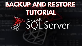 SQL Server | How to Backup and Restore Databases (Part 1)