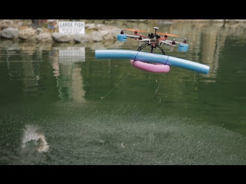 Hexacopter Fishing with the Aerosky 550