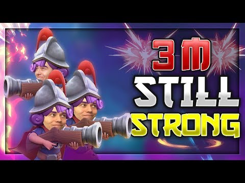 3 MUSKET STILL STRONG?! High Ladder Pushing — Clash Royale