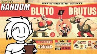 Popeye: Bluto vs Brutus | Dato Random