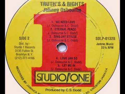 Johnny Osbourne - Eternal Peace (Studio One)