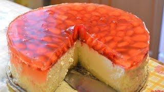 видео Творожный чизкейк с выпечкой