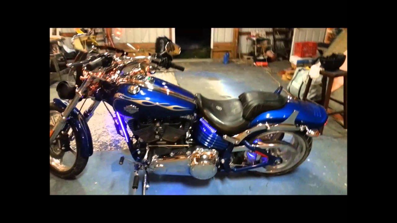 My Harley Davidson 2009 Rocker C Youtube