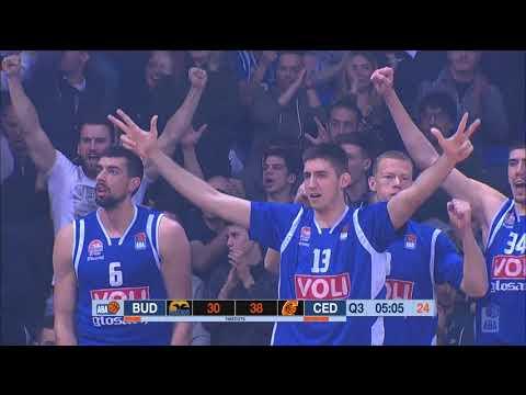 2018 ABA Playoffs Semifinals highlights, Game 3: Budućnost VOLI - Cedevita (1.4.2018)