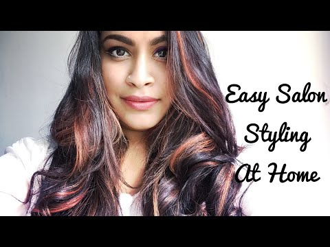 Easy Salon Styling At Home