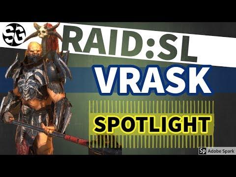 [RAID SHADOW LEGENDS] VRASK REVIEW / SPOTLIGHT / GUIDE