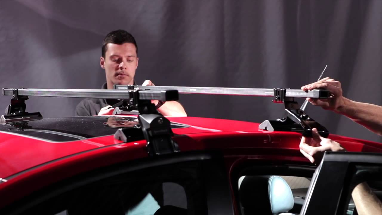 SportRack Complete Roof Rack System - SR1002 - YouTube