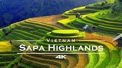 SaPa, Vietnam 🇻🇳  - by drone [4K]
