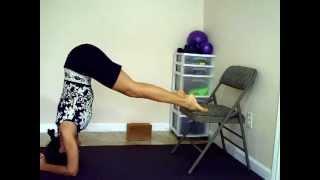 Chair Yoga 4 Headstand
