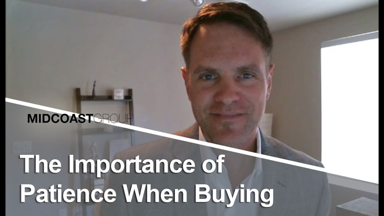 The Importance of Patience When Buying | Erik Brown