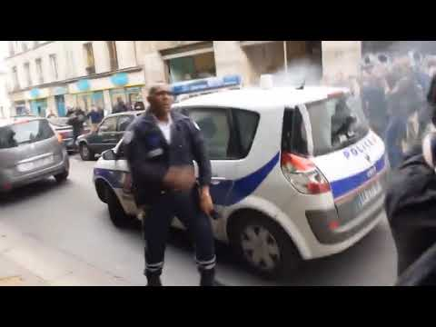 Police Vs immigrants ,riot , New French emirates