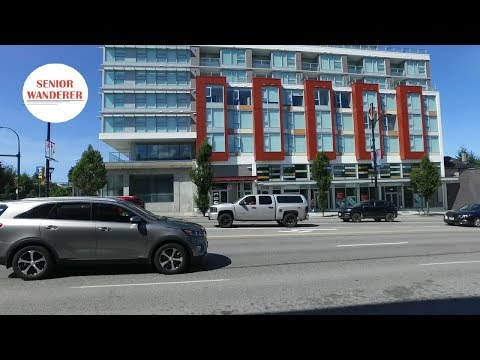 Vancouver street walk, EP 12 - Walk along Cambie Street from King Edward to Broadway