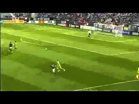 Dirty tackle on Steve Zakuani - Seattle Sounders  Colorado Rapids