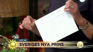 Panelen gissar prinsens namn - Nyhetsmorgon (TV4)