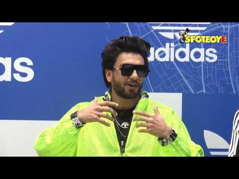 UNCUT- Ranveer Singh Inaugurates Adidas Originals Store | SpotboyE