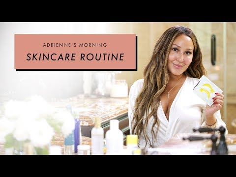 Adrienne Houghton's Morning Skincare Routine | All Things Adrienne