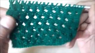 Jali knitting pattern