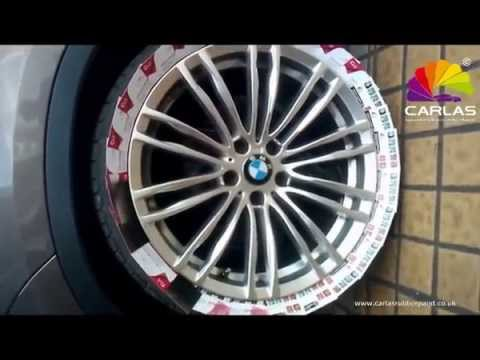 Carlas Rubber Spray film paint, peelable, Alloy wheels how to fit