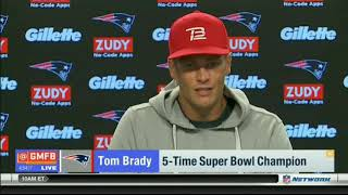 Good Morning Football | Tom Brady On New WR Brandin Cooks