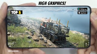 🔥TOP 5 Driving Simulator Games for Android&IOS 2020   Best Offline Driving Simulator Games in 2020