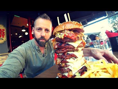$40 Angus Burger Athens 🇬🇷