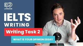 IELTS Writing Task 2 | WHAT IS YOUR OPINION ESSAY with Jay!