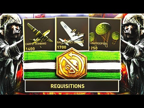 REQUISITIONS BASIC TRAINING IS FOR GARBAGE PLAYERS in COD WW2! GAME BREAKING ADDITION in COD WW2!