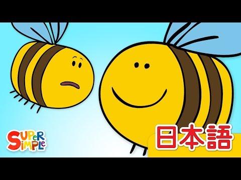 ハチのすみつけた「Here's The Beehive」 | こどものうた | Super Simple 日本語