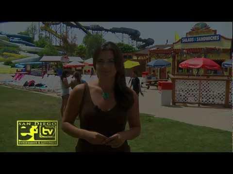 June E&L TV Show at Knotts Soak City Water Park