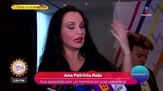 ¡Ana Patricia Rojo fue agredida por un hombre en una papelería! | Sale el Sol YouTube Videos
