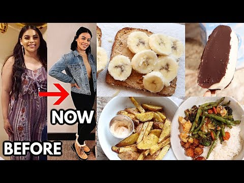 WHAT I EAT IN A DAY TO LOSE WEIGHT / QUICK & EASY MEALS