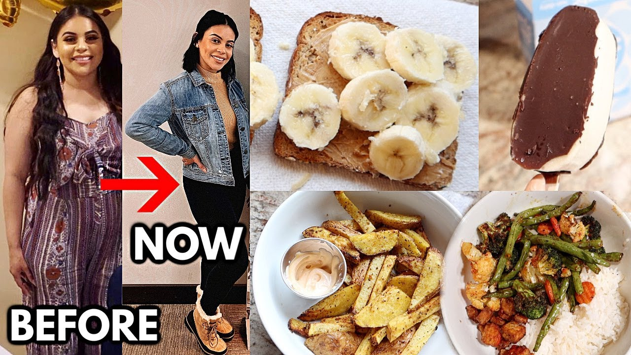 <div>WHAT I EAT IN A DAY TO LOSE WEIGHT / QUICK & EASY MEALS</div>